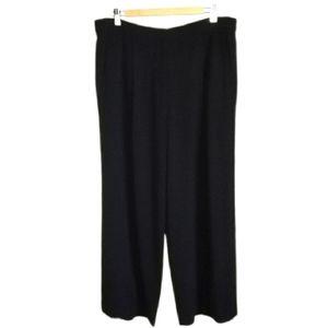 MAX MARA Black Classic Wool Straigth Legs Pants